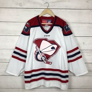 Vintage South Carolina Stingrays ECHL CCM Jersey
